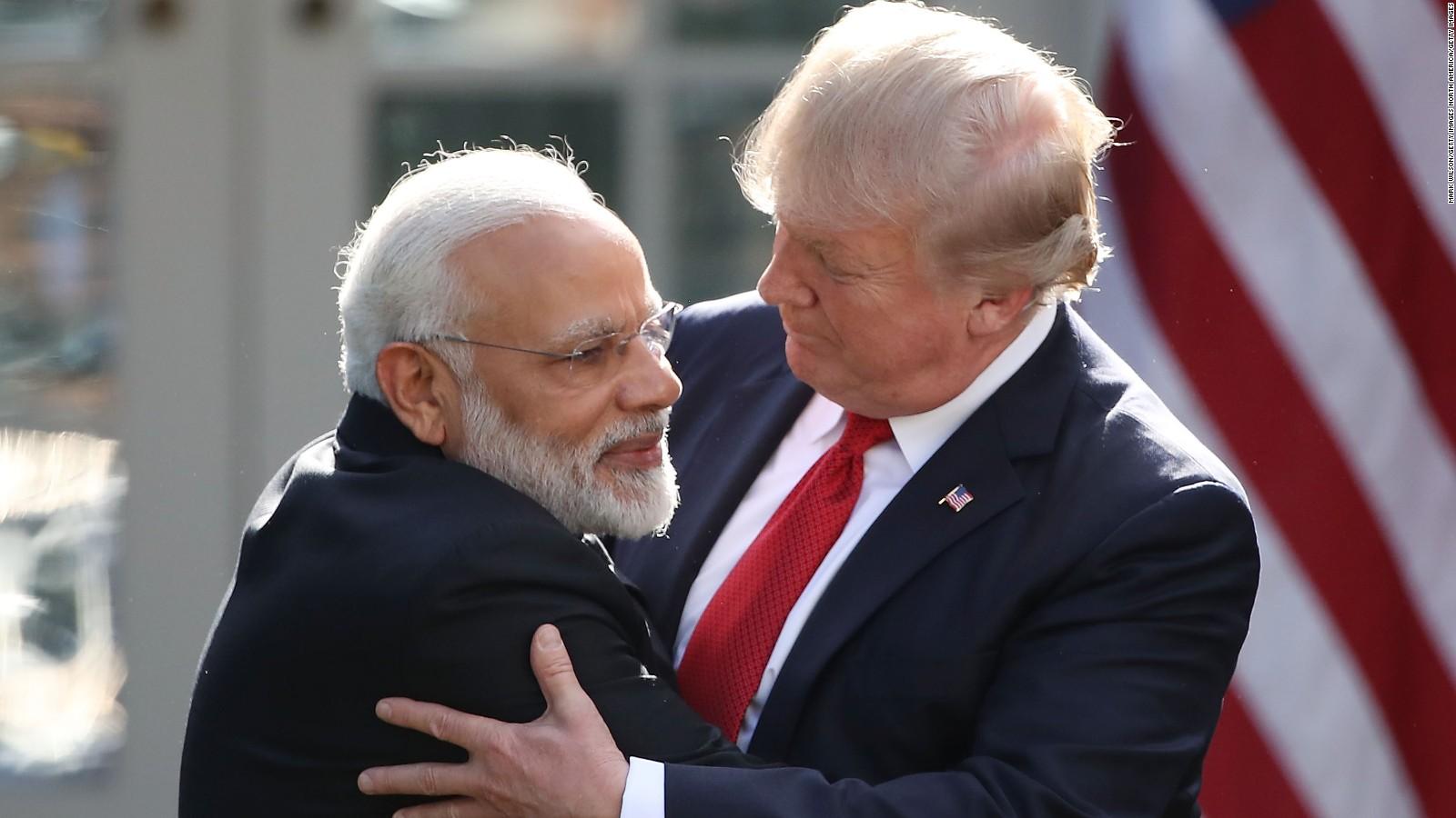 Narendra Modi e Donald Trump