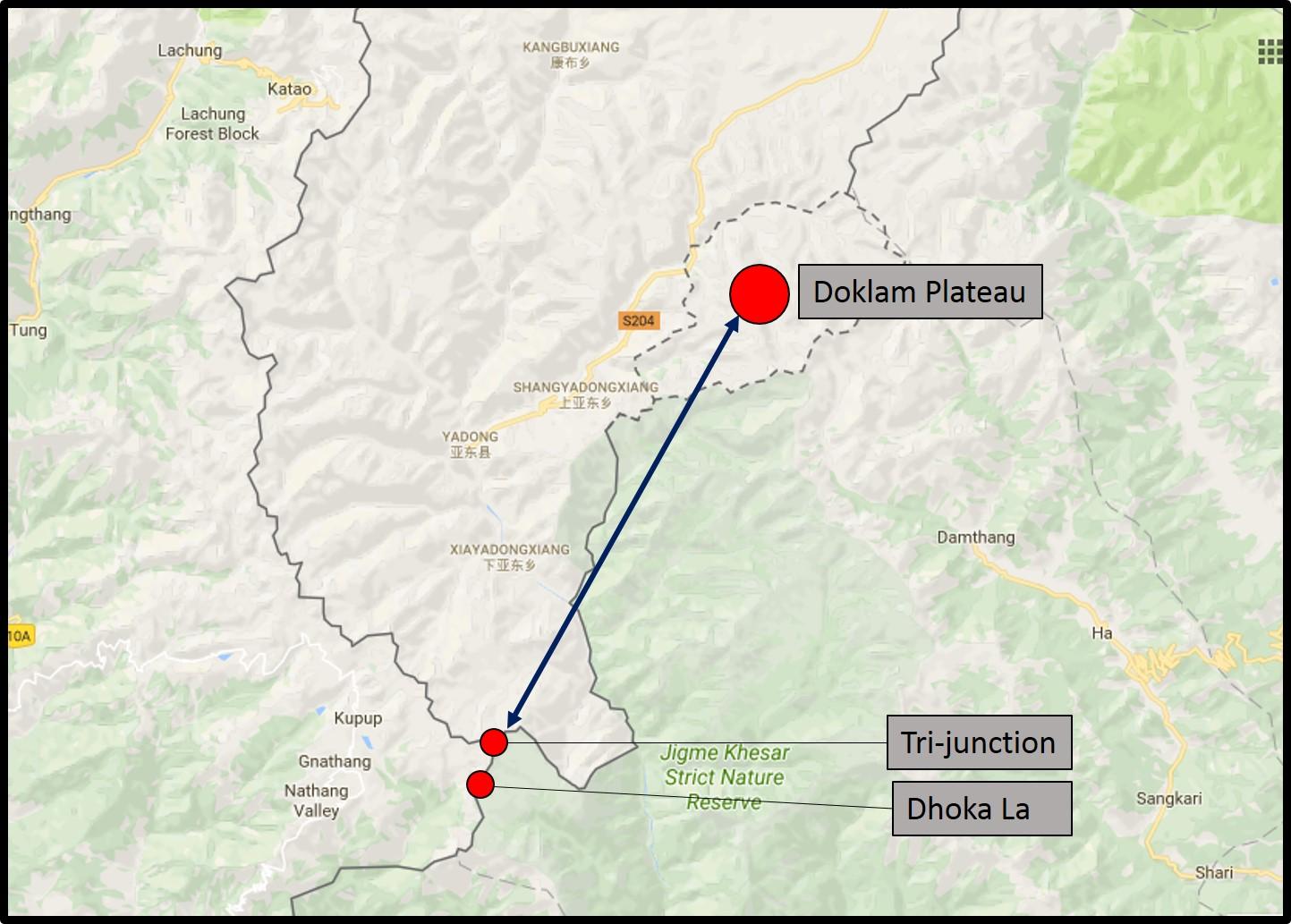 Il Buthan teatro di una sfida tra Cina e India