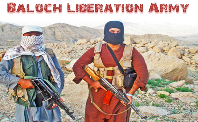 Fighters of BLA, Baloch Liberation Army