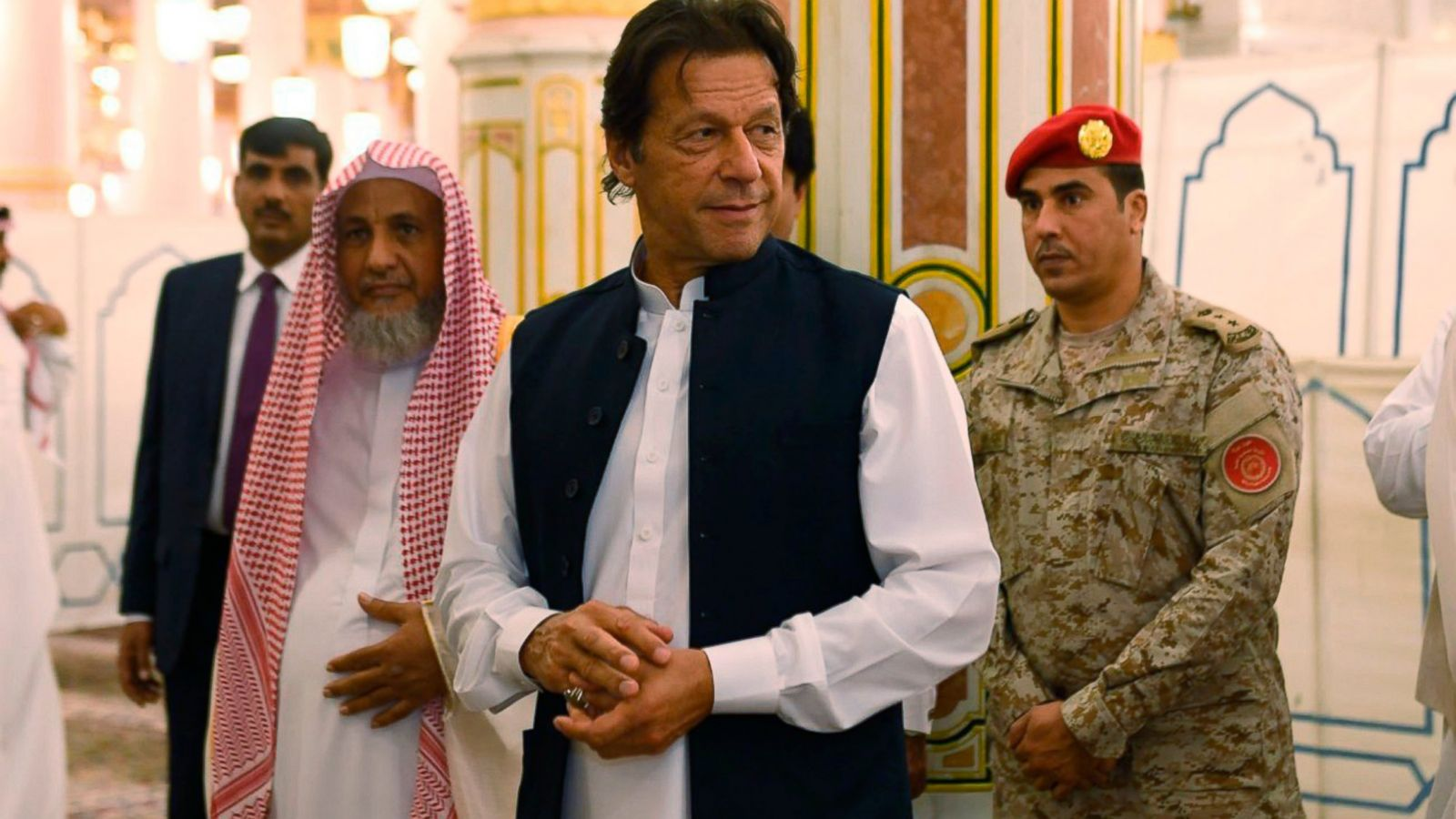 Pakistan's PM Imran Khan