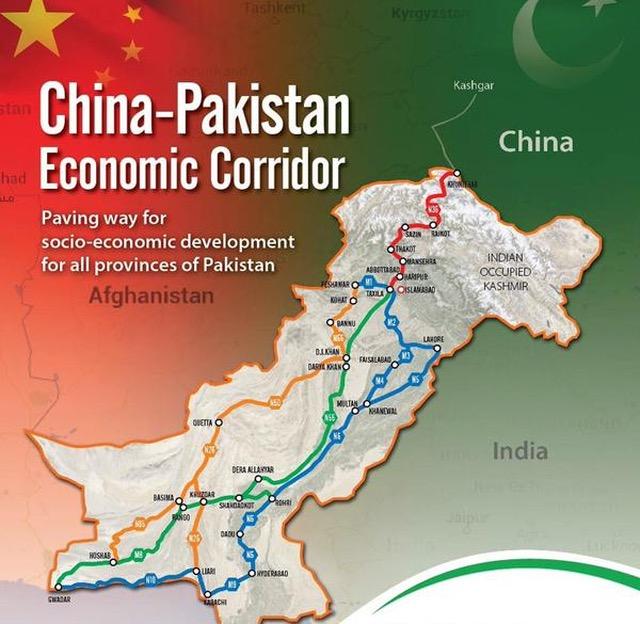 CPEC China-Pakistan Economic Corridor
