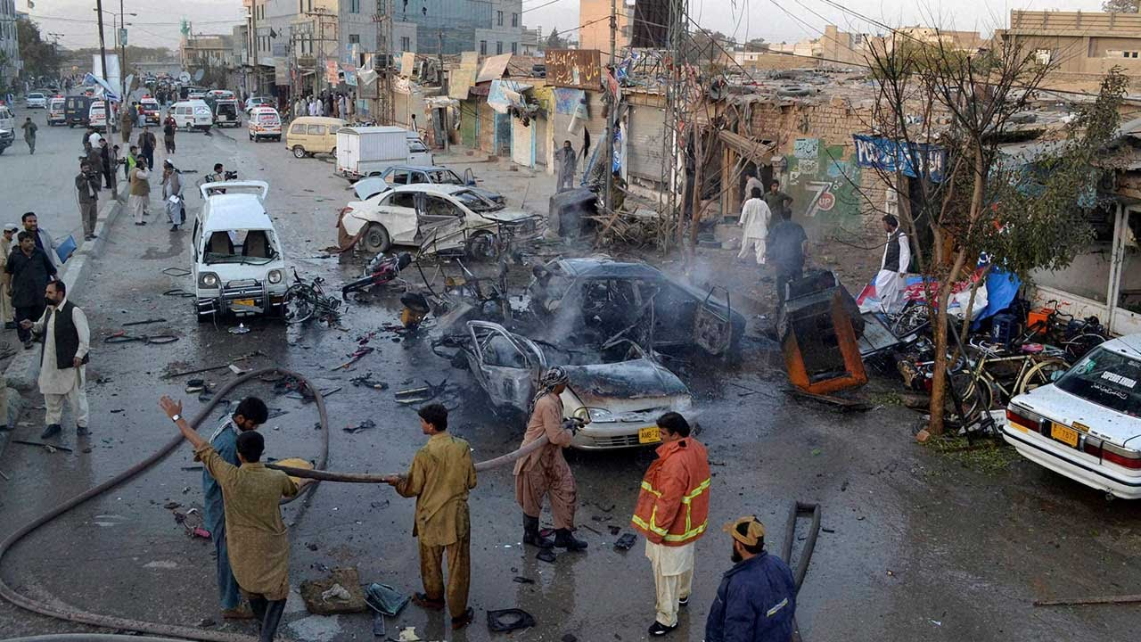 suicide attack near an imambargah
