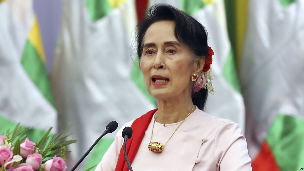 State Counsellor Aung San Suu Kyi