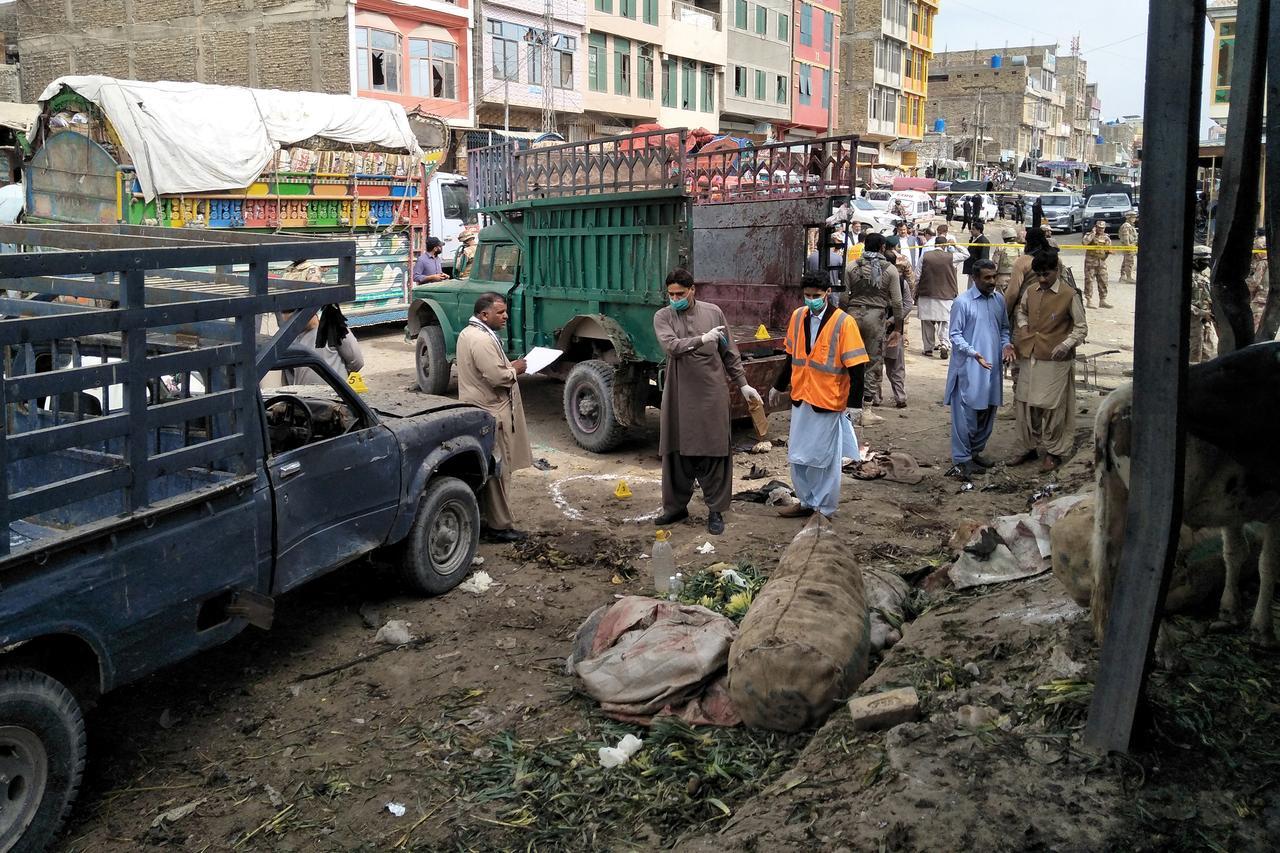 Hazaras killed in a suicide attack in Quetta