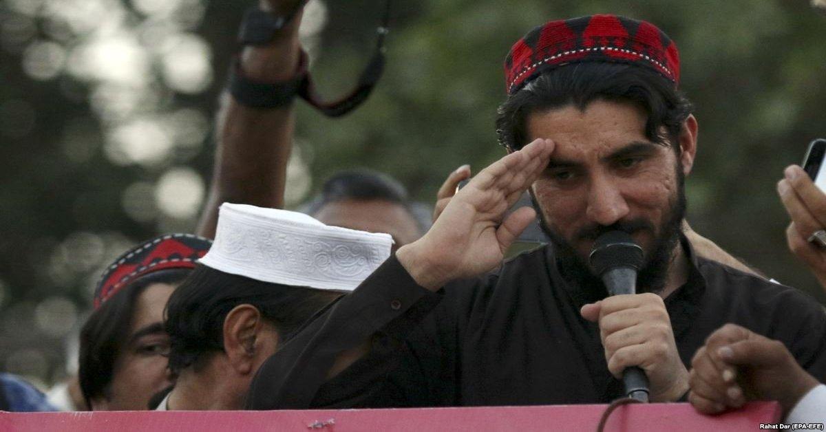 PTM leader Manzoor Pashteen