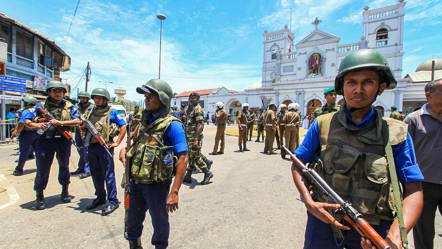 Sri Lankan Easter Sunday bomb blasts