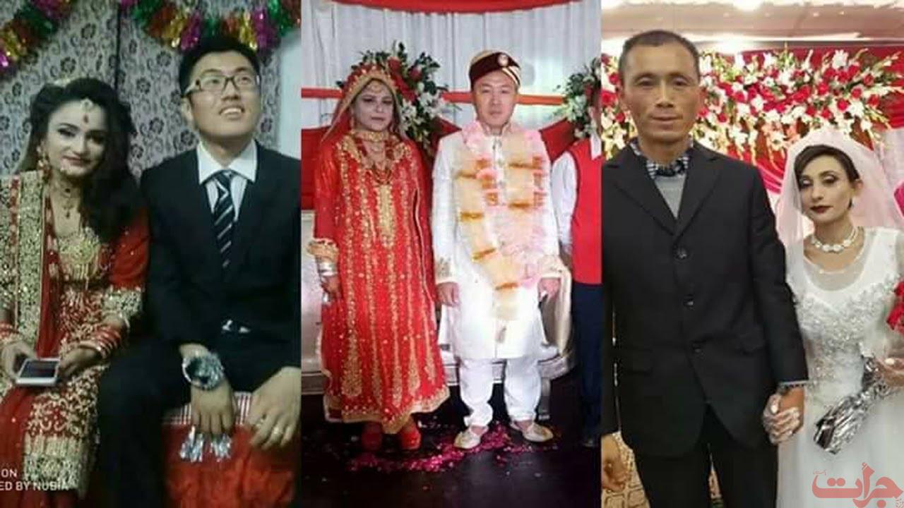 Un uomo cinese prende in sposa una ragazza pakistana