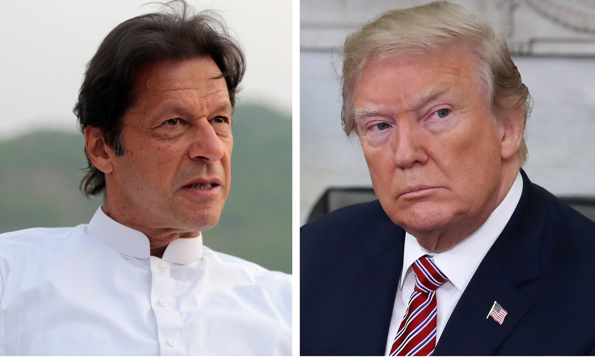 Imran Kahn and Donald Trump
