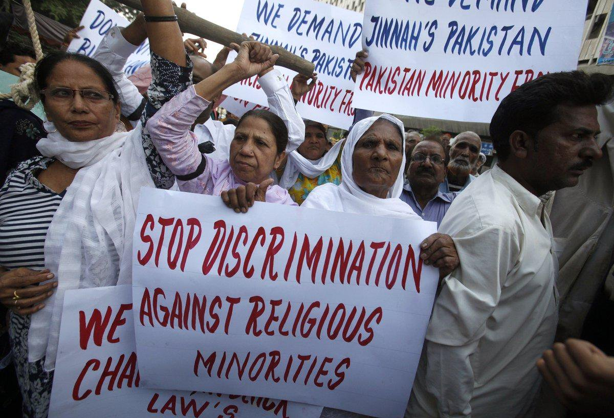 Pakistan religious discrimination