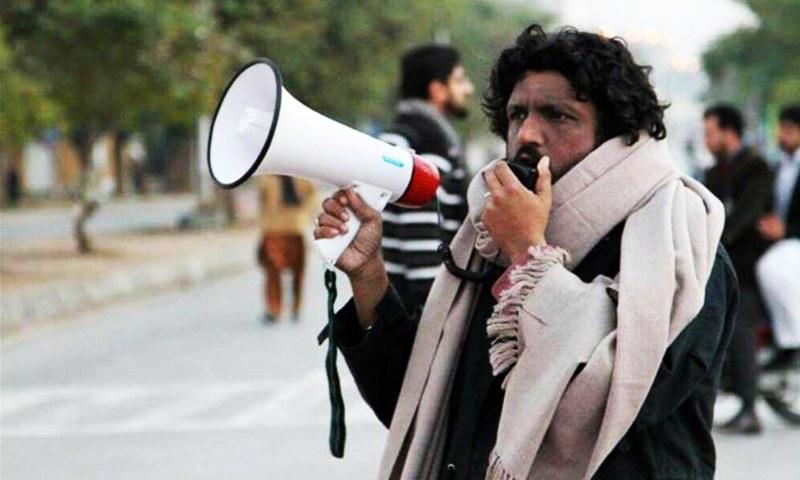 The activist Salman Haider