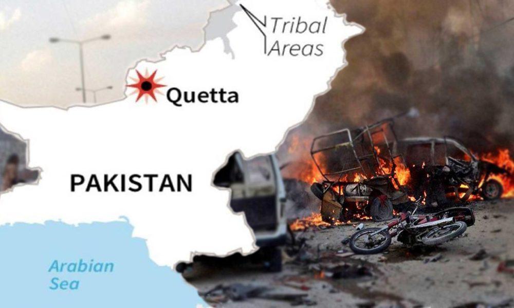 suicide bomber in Quetta
