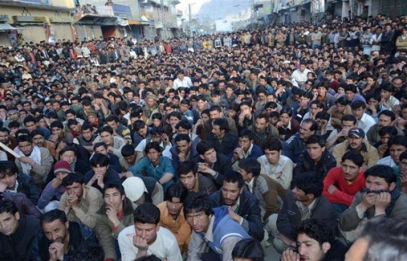 gilgit baltistan pakistan protest