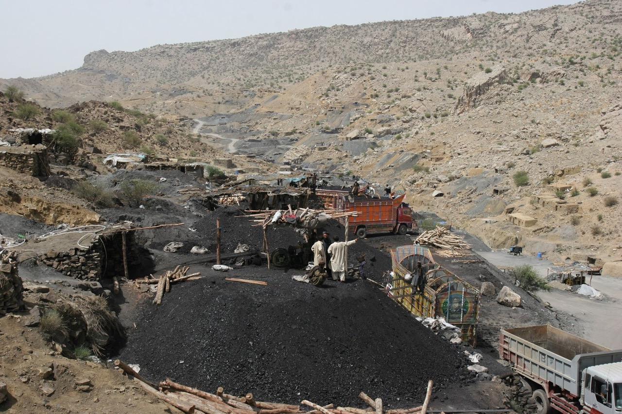 mined coal