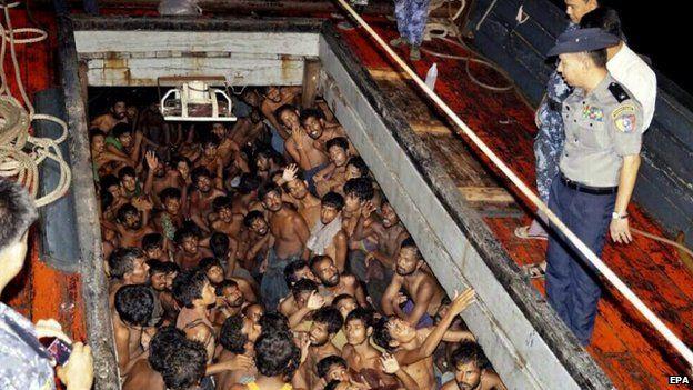 Rohingiya refugees