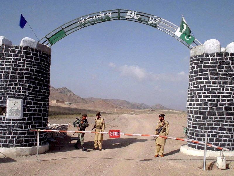 Pakistan-Iran border